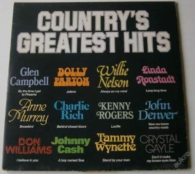 LP - Country's Greatest Hits /2LP/ / Rarita!!