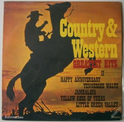 LP - Country & Western Greatest Hits II