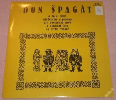 LP - Don Špagát a další písně...