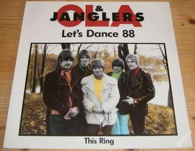 LP -Ola & Janglers- Let's Dance 88 / This Ring