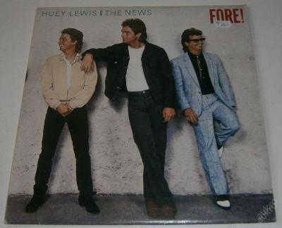 LP - Huey Lewis And The News - Fore! / Chrysalis
