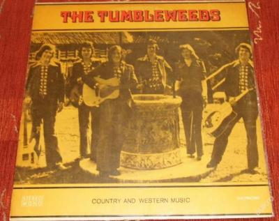 LP The Tumbleweeds - Country And Western Music
