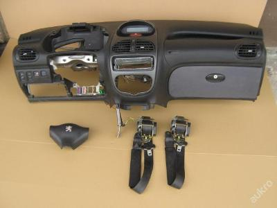 Palubní deska airbag PEUGEOT 206