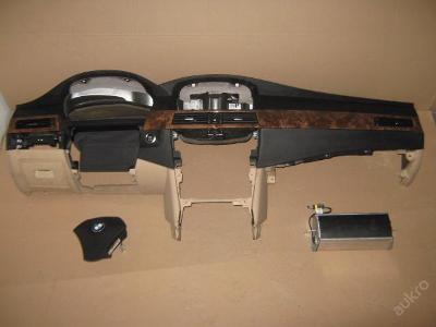 Palubní deska AIRBAG BMW 5 E-60 E-61 E60 E61