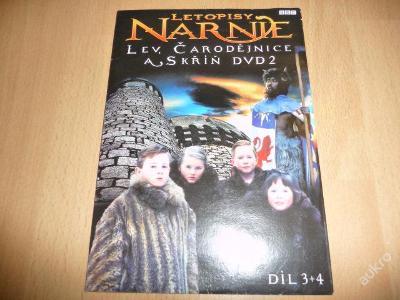 DVD - Letopisy Narnie - Lev, čarodějnice a skříň 2
