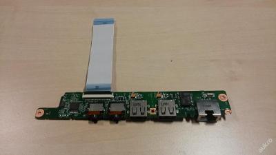 Audio + USB + Lan porty z Lenovo S10-3