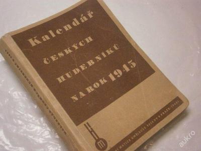 Kalendář českých hudebníků na rok 1945