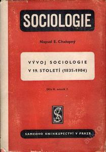 Chalupný - Sociologie díl II. sv 2