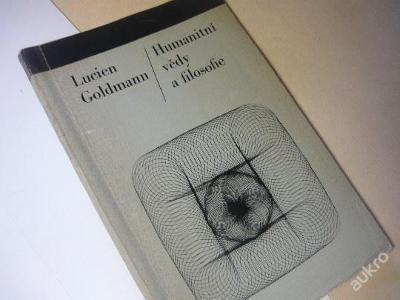 Humanitní vědy a filosofie /Lucien Goldmann, 1967/