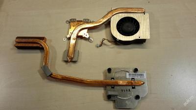 Chlazení + ventilátor z MSI Megabook GX-700X