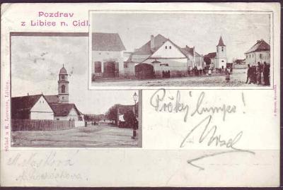 LIBICE NAD CIDLINOU - okénková - 1902