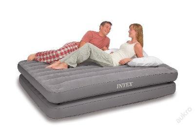 Nafukovací matrace - Komfort 4v1, šedá - 67744