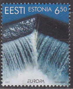 ESTÓNSKO - EESTI - EUROPA CEPT 2001 - **svěží**