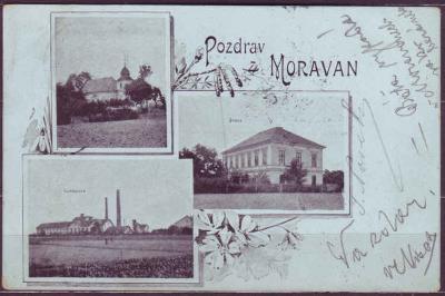 MORAVANY - okénková - 1900