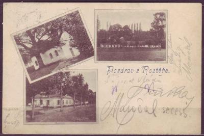 ROZTĚŘ - okénková - 1902