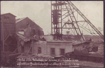 OSEK - důlní katastrofa na dole Nelson III - 1934