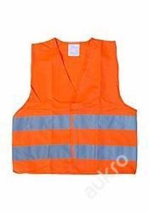 Vesta výstražná oranžová dětská 01513