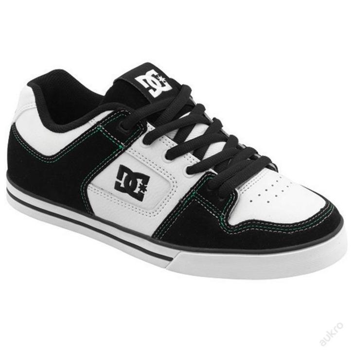 DC Skateboarding Pure Slim, kožené , velikost UK 7 - Pánské boty