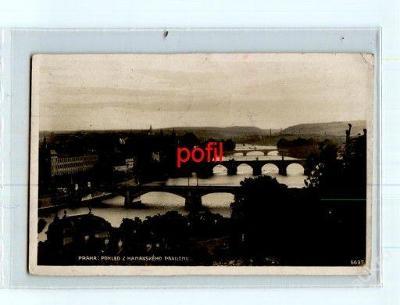 Praha: Pohled z Hanavského pavilonu /231615/