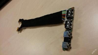 USB + Audio board z  HP Compaq NC6220
