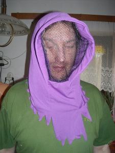 kostým - kukla
