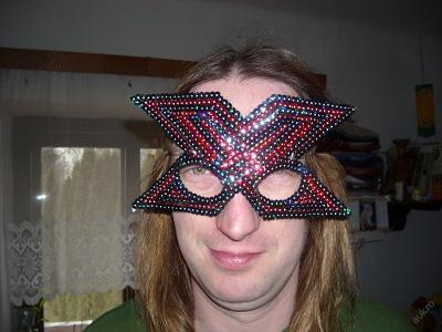 kostým - maska na oči