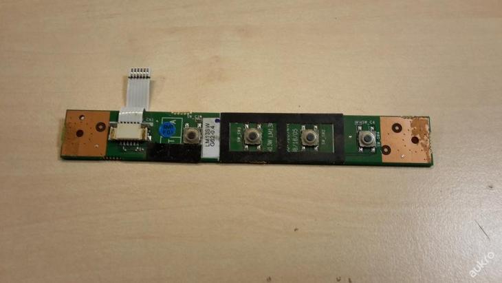 Zapínaní + funkčnní lišta z FSC Amilo L1310G - Notebooky, příslušenství
