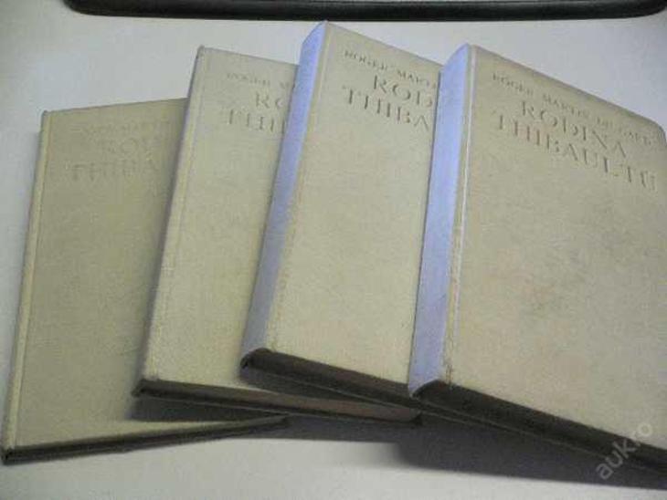 R.MARTIN DU GARD - Rodina Thibaultů (1930) 1. - 4. - Knihy