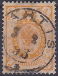 FINSKO 1891 Mi.č.: 35 - ražená