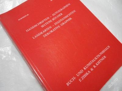 Katalog Handschriften autogr.bucher Landkarten