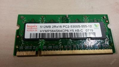 512 MB DDR2 RAM SO-DIMM Hynix