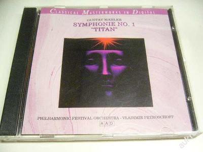 CD MAHLER / Symphony No.1 / PETROSCHOFF