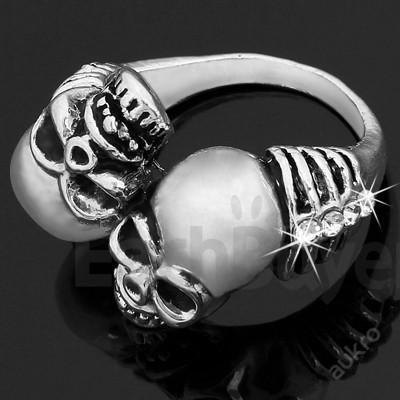 Prsten LEBKA 8x zirkon TIBETSKÝ ŠPERK 18mm