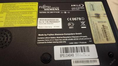Spodní vana z FSC Amilo Xa 2529