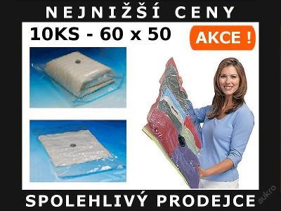 10x VAKUOVÉ PYTLE VAKUOVÝ PYTEL 60 x 50 cm - AKCE!