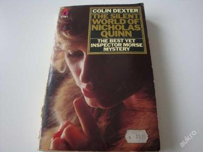 Kniha - The silent world of Nicholas Quinn- Dexter