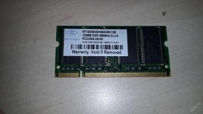 128 MB DDR RAM SO-DIMM Nanya