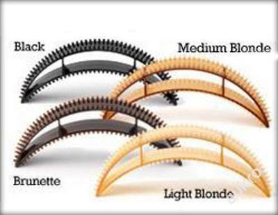 Sponka do vlasů zvyšuje vlasy SADA 5 kusu _BUMPITS