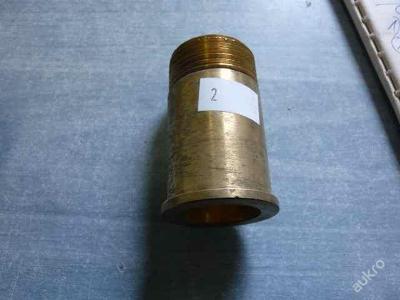 Mosazné šroubení G1, 60 mm bez matice