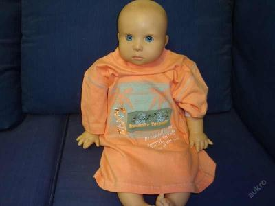 Dětské zboží-Tričko kr.ruk.meruňka - vel.104,110