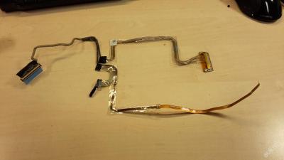 Flex LCD LVDS z DELL LATITUDE E6400 PP27L