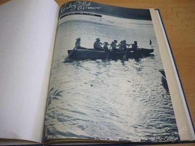 Svázaný časopis ČESKÝ DOMOV roč.V 1948 - 1949