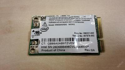 Wifi WM3945ABG z Compaq nc8430