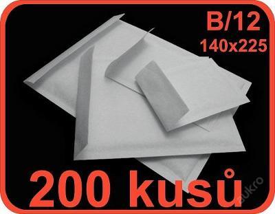 BUBLINKOVÉ OBÁLKY B/12 140x225 - 200 ks SAMOLEPÍCÍ