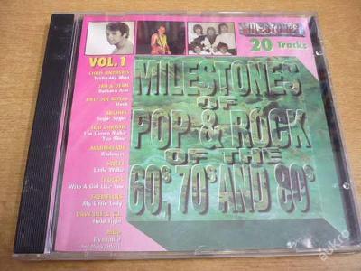 CD Milestones Pop & Rock 60s 70s 80s Vol.1