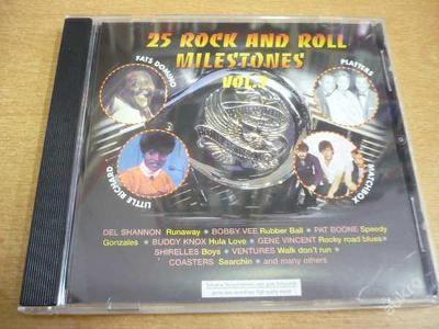 CD 25 ROCK AND ROLL MILESTONES vol.3