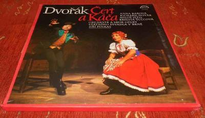 LP Antonín Dvořák - Čert a Káča /3LP/