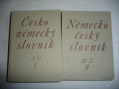 ČESKO-NĚMECKÝ SLOVNÍK 1,2,4 - SPN