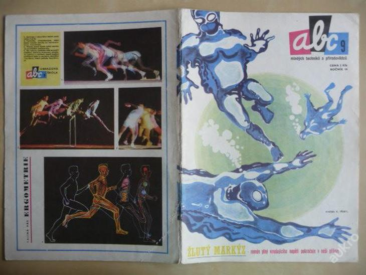 Časopis - ABC - 14.ročník z roku 1970 - číslo 9 - Časopisy