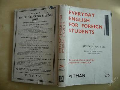 EVERYDAY ENGLISH FOR FOREIGN STUDENTS - 1934